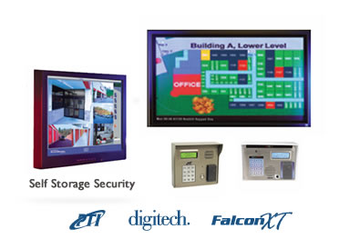 self storage security system