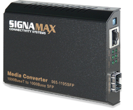 The Signamax Gigabit Ethernet Media Converters