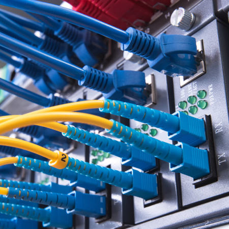 fiber optic cable in data center