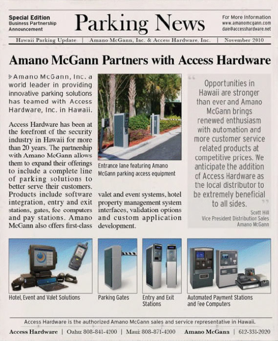 Access Hardware in the news